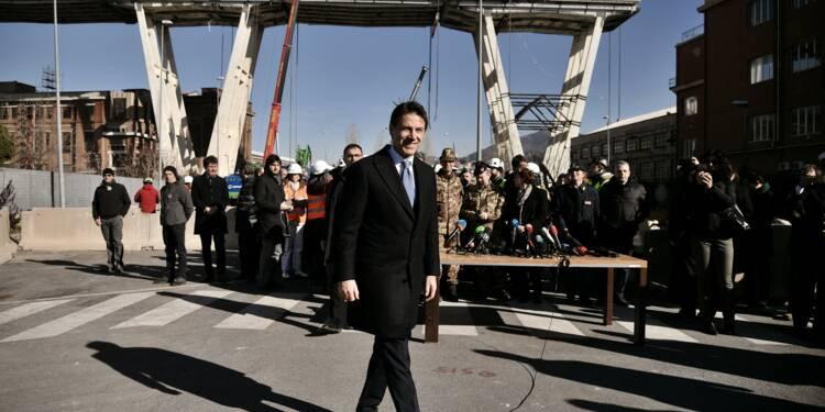 Italie : coup d'envoi de la destruction du pont qui a endeuillé Gênes