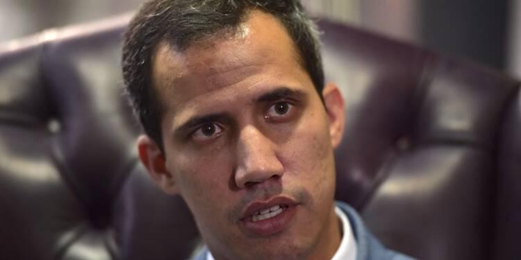 """Guaido: """"Nous ferons tout"""" pour que Maduro quitte le pouvoir"""