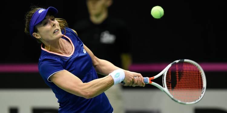 Fed Cup: Garcia et Cornet, come-backs gagnants