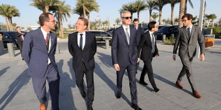 Plaidoyer pour l'Europe du ministre français de l'Economie à Dubaï