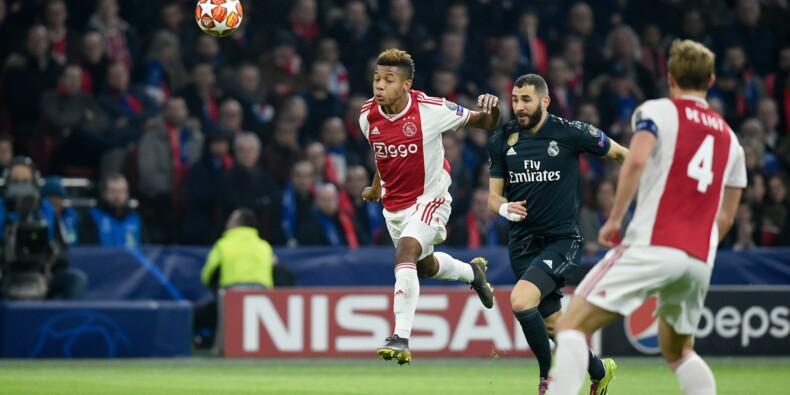 Ligue des champions: Benzema et la VAR coulent l'Ajax
