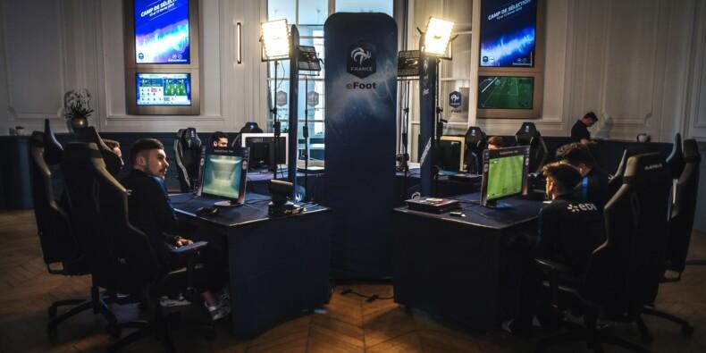 Esport: les Bleus du football virtuel s'incrustent à Clairefontaine