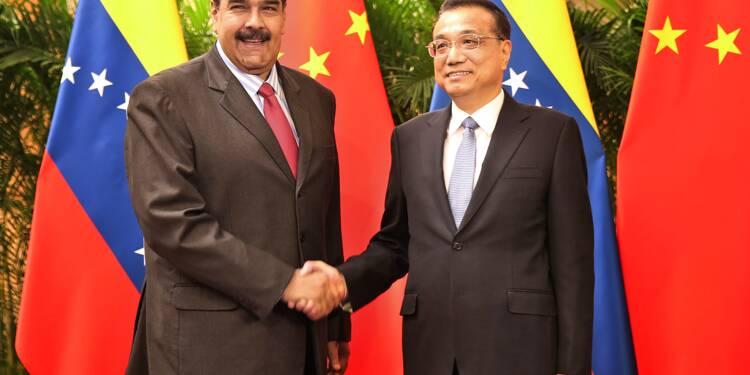 """Venezuela: le pari pétrolier de la Chine menacé, signe des périls de la """"diplomatie du yuan"""""""