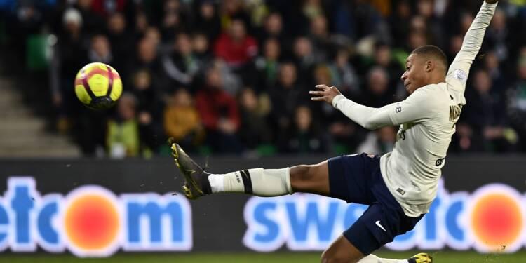 """Ligue 1: Mbappé flambe dans le """"Chaudron"""""""