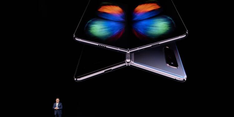 Il faudra payer cher pour s'offrir le smartphone pliable de Samsung
