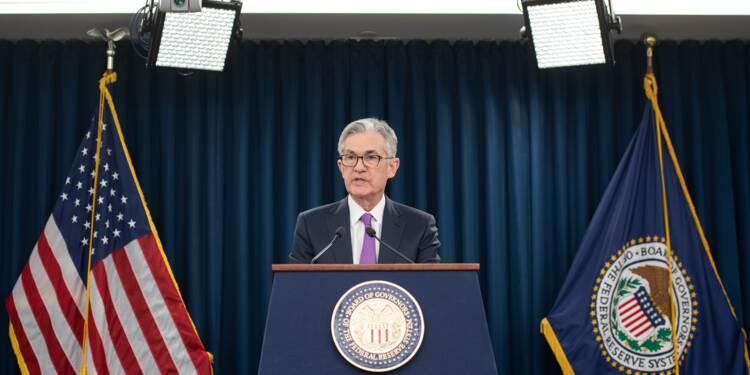 """Croissance plus lente, bras de fer commercial: la Fed préfère être """"patiente"""""""