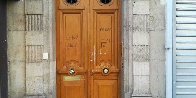 De nouvelles inscriptions antisémites découvertes à Paris