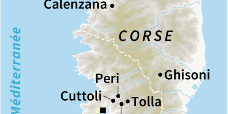 La Corse se prépare à une deuxième nuit d'incendies