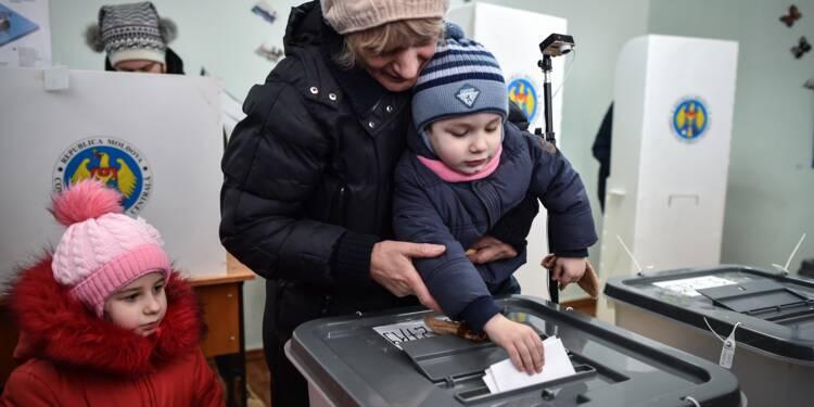 Partagée entre Moscou et l'UE, la Moldavie élit ses députés