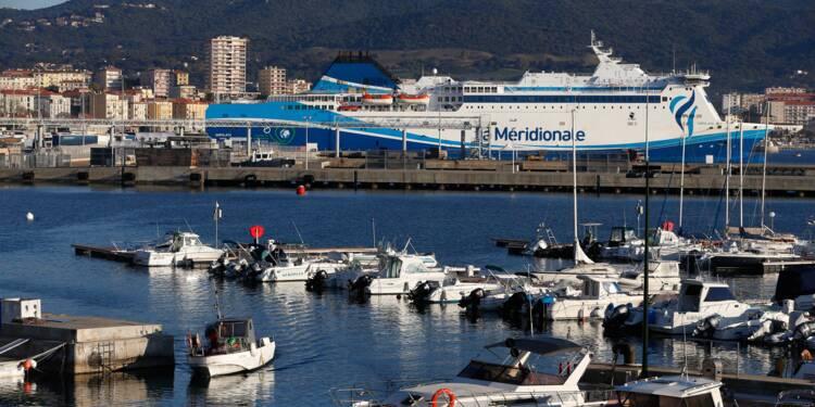 Liaison maritime Corse-Marseille: la Méridionale écartée de la DSP pour 3 lignes