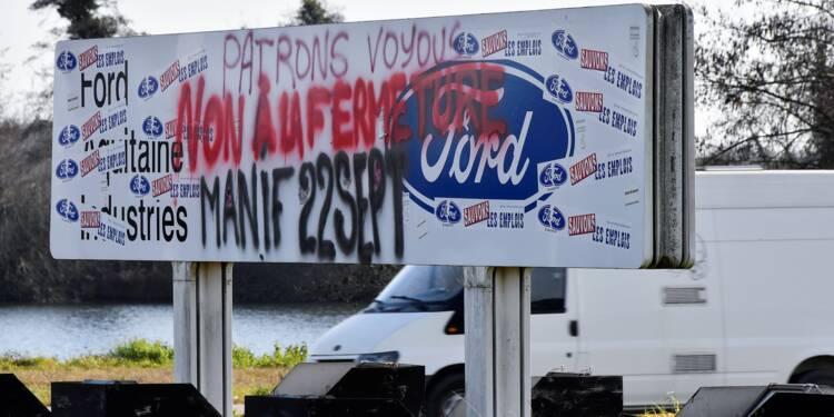 """Blanquefort: l'Etat peut pousser Ford à investir """"plusieurs millions"""" d'euros"""