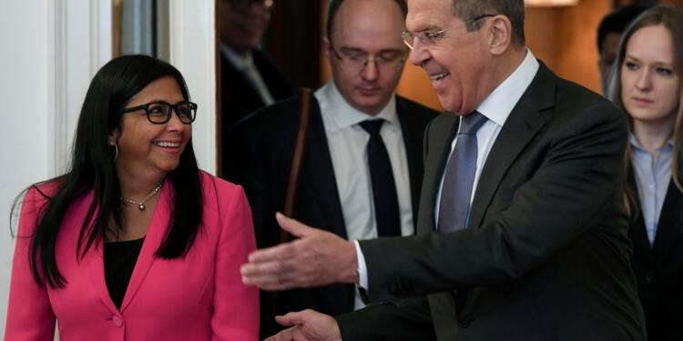 Venezuela: bras de fer russo-américain autour de l'aide humanitaire