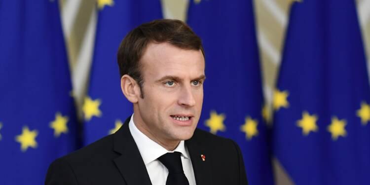 Macron fait ses propositions aux Européens à trois mois des élections