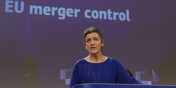 La commissaire de l'UE à la concurrence met en garde contre une réforme des règles de fusions