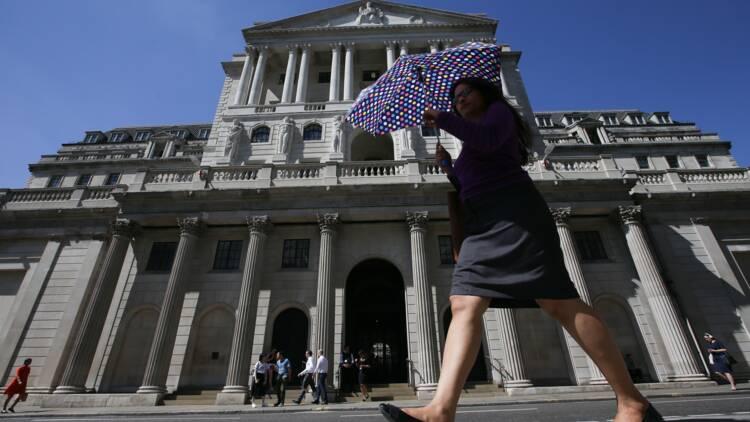 Brexit: les risques financiers concernent avant tout l'Europe, assure la BoE