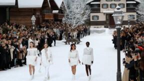 Chanel : des flocons et des larmes pour la dernière collection de Karl Lagerfeld