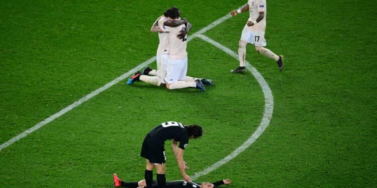 """Ligue des champions: le PSG éliminé sur une """"remontada"""" de Manchester United 3-1"""