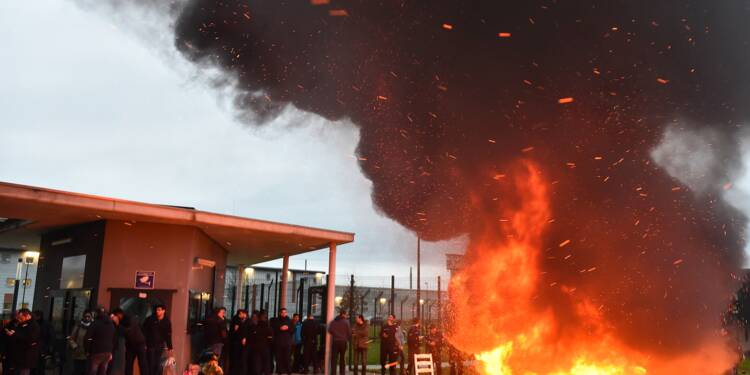 La prison d'Alençon/Condé-sur-Sarthe bloquée par des surveillants