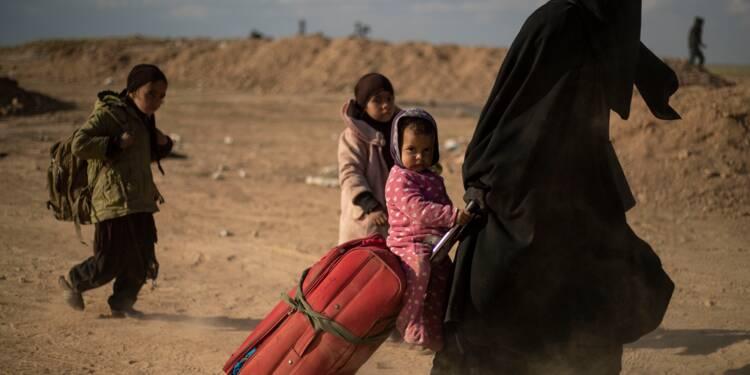 """Syrie: émergeant des ruines du """"califat"""", ils témoignent de l'horreur"""