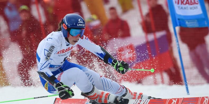 Ski alpin: Vlhova oblige Shiffrin à patienter, Worley hors jeu après le géant de Spindleruv Mlyn