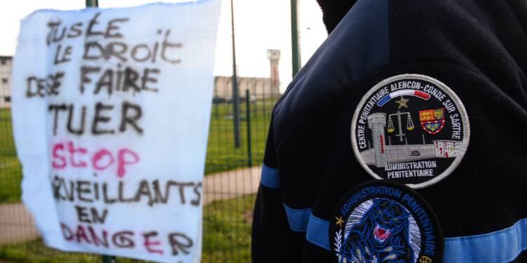 Quatrième jour de blocage à la prison de Condé-sur-Sarthe