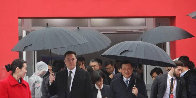 Tesla décroche un prêt de plus de 520 millions de dollars pour son usine en Chine
