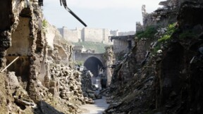 En Syrie, un vieux souk d'Alep reprend des couleurs