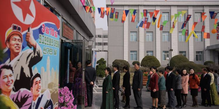 Législatives: la démocratie façon nord-coréenne