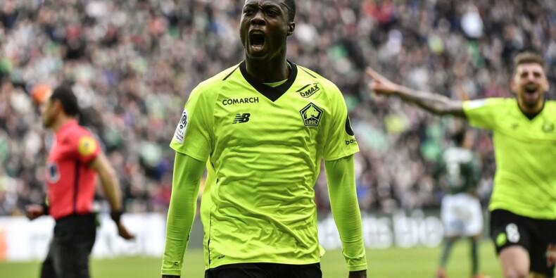 Ligue 1: Lille, 2e, vainqueur à St-Etienne 1-0, repousse Lyon à 7 points