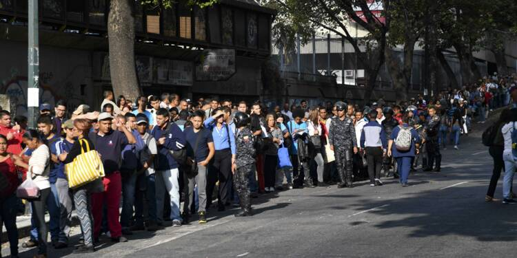Retour au travail au Venezuela, encore loin de la normale
