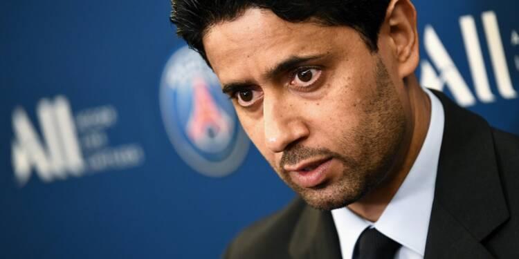 """Mondiaux d'athlétisme au Qatar: le patron du PSG, Nasser Al-Khelaïfi, mis en examen pour """"corruption active"""" (source judiciaire)"""