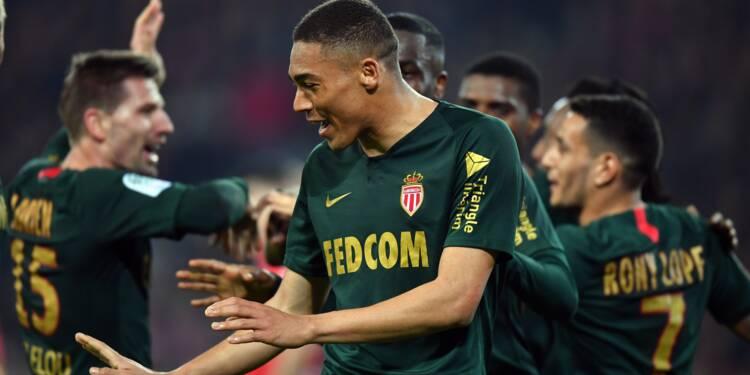 Ligue 1: Monaco surprend le dauphin lillois et s'éloigne de la zone rouge