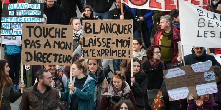 CGT et FO dans la rue pour se faire entendre, les enseignants mobilisés