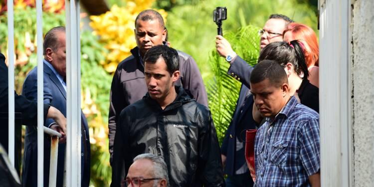 """Venezuela: le bras droit de Guaido arrêté pour """"terrorisme"""""""