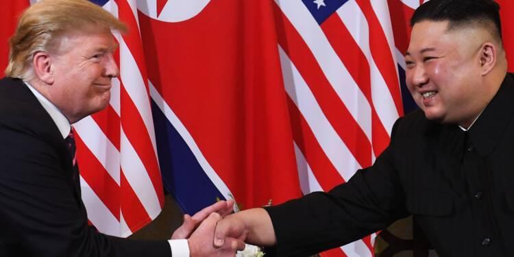 """Trump annule des sanctions contre Pyongyang parce qu'il """"apprécie"""" Kim Jong Un"""