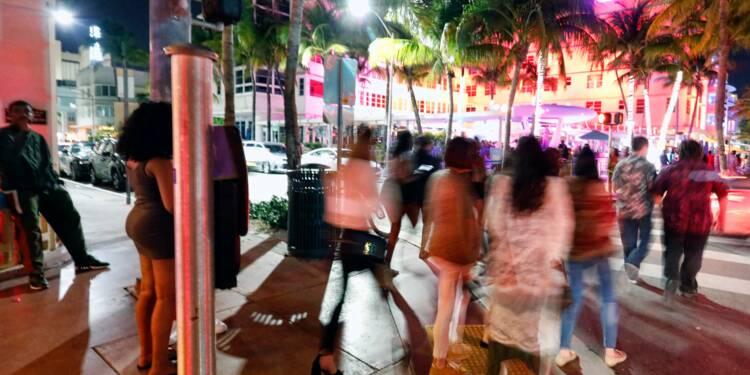 """La fête est finie: la police de Miami se mobilise pour le """"Spring break"""""""