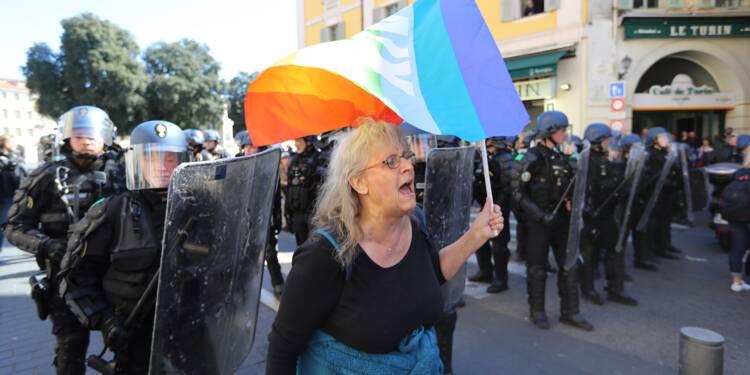 """""""Gilets jaunes"""": enquête ouverte à Nice après la blessure d'une manifestante"""