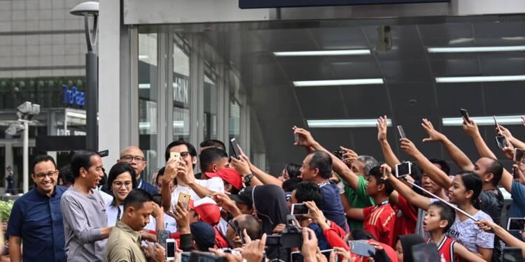 Jakarta inaugure sa première ligne de métro dans l'enthousiasme