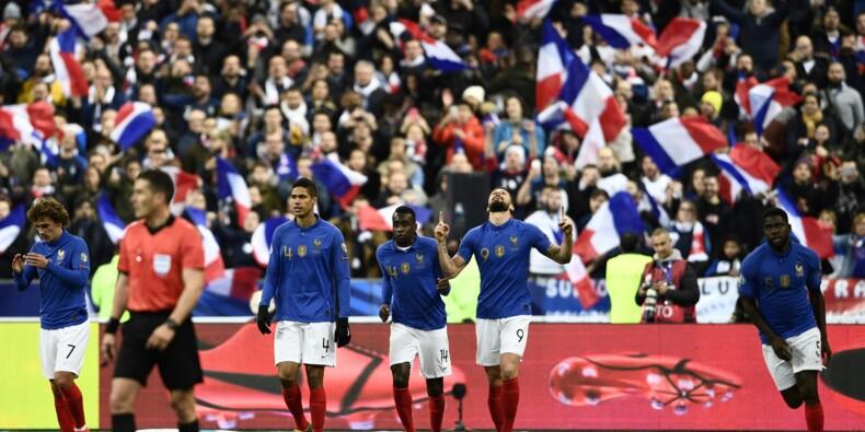 Giroud et les Bleus font exploser la muraille islandaise