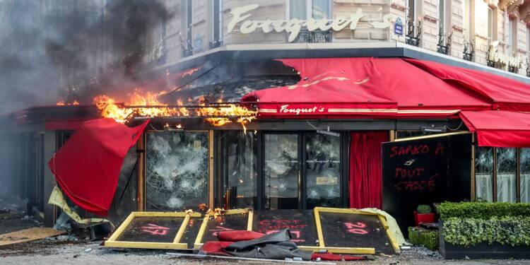 """""""Gilets jaunes"""": le vandalisme a coûté 200 M EUR aux assureurs"""