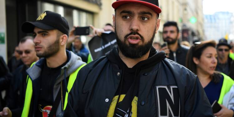 """Manifestations non déclarées de """"gilets jaunes"""": Eric Drouet condamné à une amende"""