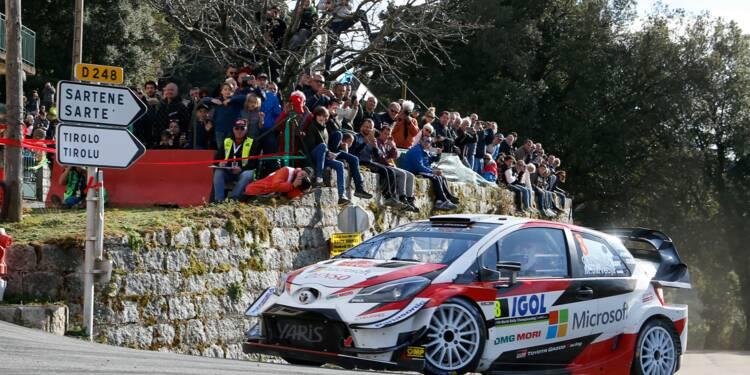 Rallye de Corse: Tänak et Evans au coude à coude mais pas à la portière