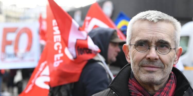 """Veyrier (FO ): """"pas de grande conquête sociale due au syndicalisme depuis 35 ans"""""""