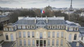 France: le Palais de l'Elysée vu du ciel pour la première fois