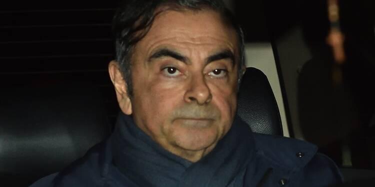 Carlos Ghosn restera en garde à vue jusqu'au 22 avril