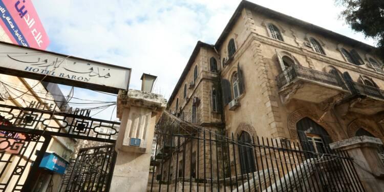A Alep, le sort incertain du légendaire hôtel Baron