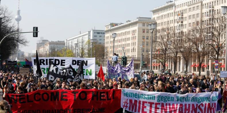 """Les Allemands se mobilisent contre """"la folie des loyers"""""""
