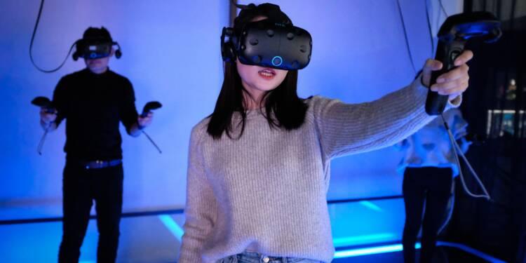 Jeux vidéo: en Chine, réalité virtuelle rime avec ambitions bien réelles