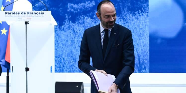 Baisse des impôts, lutte contre la fraude fiscale... les doléances retenues par Édouard Philippe
