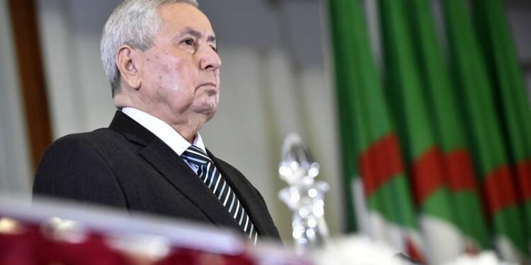"""Algérie: rejeté par la rue, Bensalah promet un scrutin présidentiel """"transparent"""""""